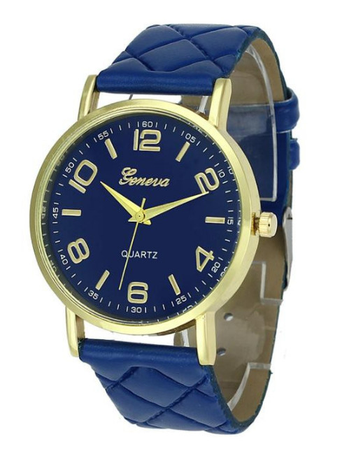Hodinky Geneva 8713 Blue
