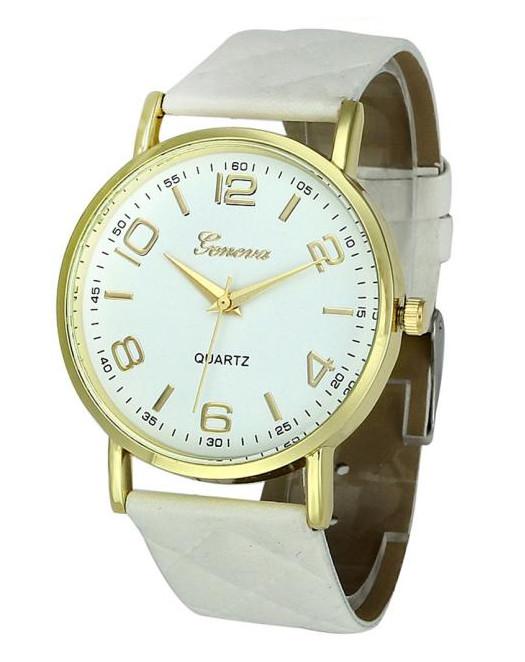 Hodinky Geneva 8713 White