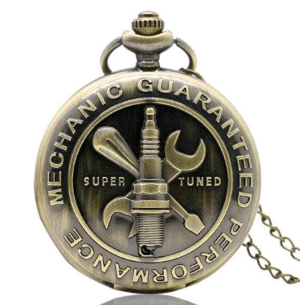 Kapesní hodinky Mechanic Guaranted Performance