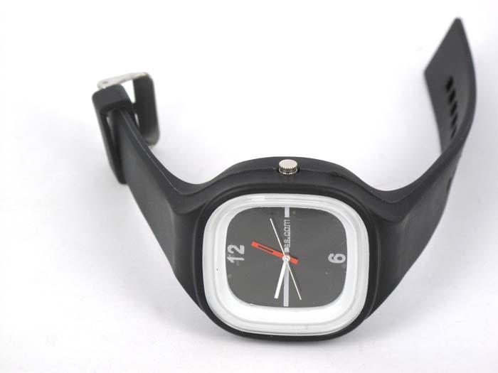 Silikon Watch Square černé