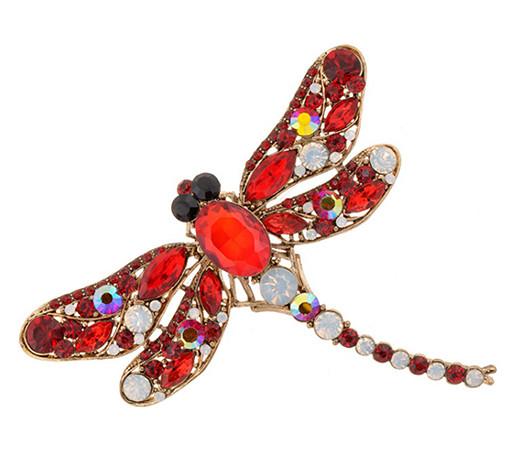 Brož Vážka červená