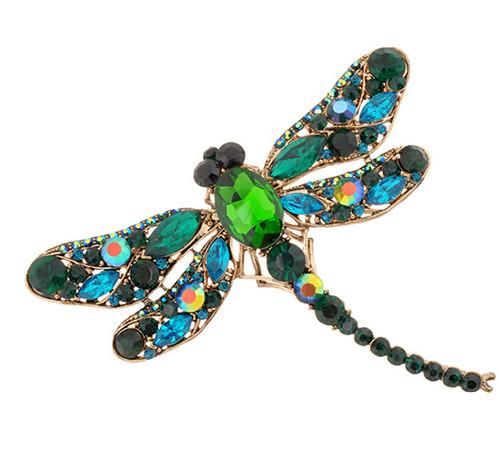 Brož Vážka zelená