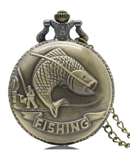 Kapesní hodinky Fishing P217