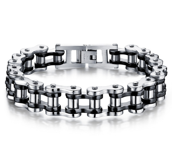 Náramek moto řetěz z chirurgické oceli