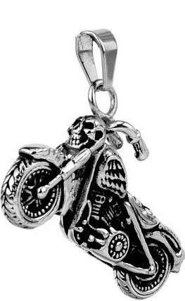 Přívěsek motorka z nerezové oceli