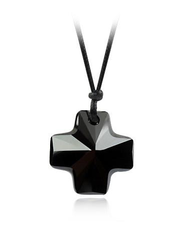 Přívěsek Swarovski Black Cross