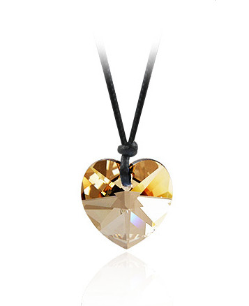 Přívěsek Swarovski Gold Heart