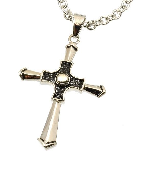 Police Pánský náhrdelník Křížek Jason PJ25573PSS/01