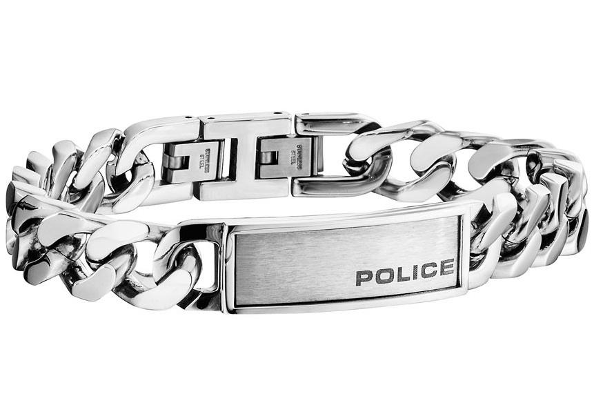Pánský náramek z chirurgické oceli Police PJ25485BSS/01
