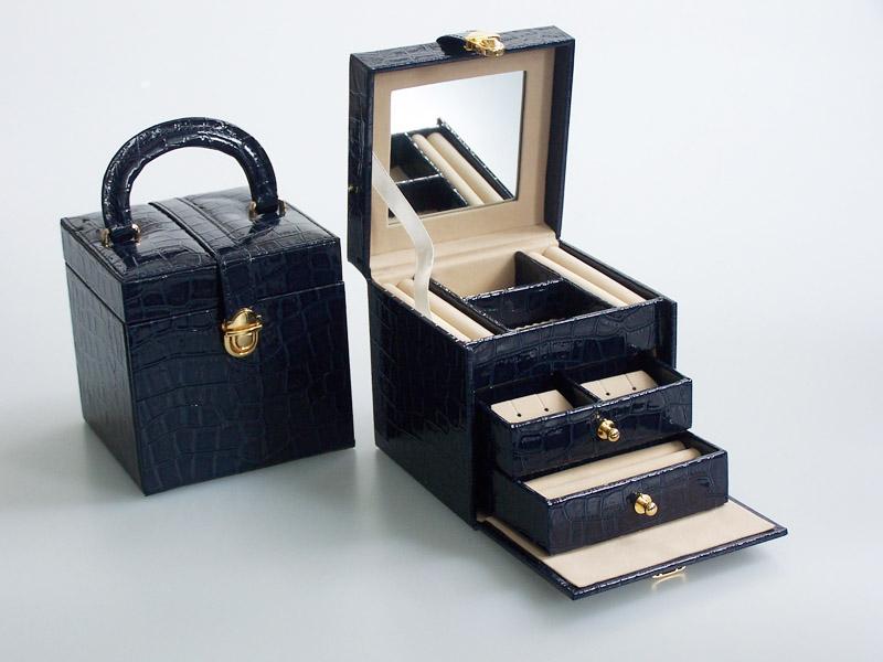 Šperkovnice Gold Pack Croco KL13-MO