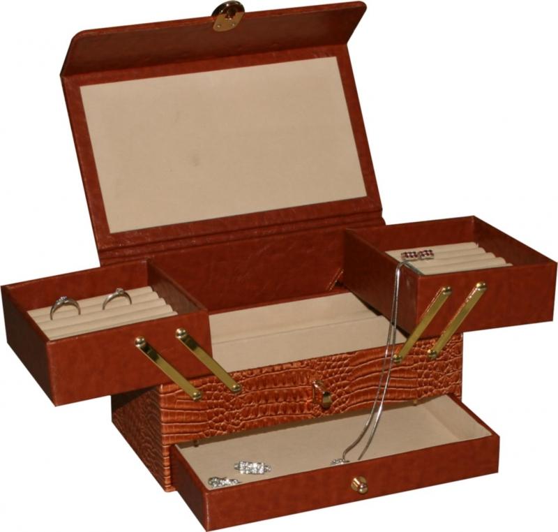 Šperkovnice Gold Pack KL15 HNC Croco