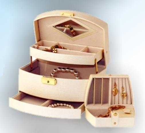 Šperkovnice Gold Pack KL66 béžová
