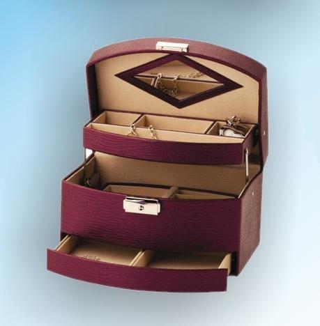 Šperkovnice Gold Pack KL66 fialová