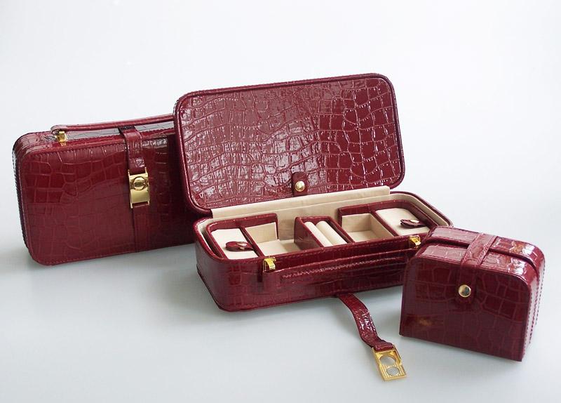 Šperkovnice Gold Pack Croco KL14-TMC