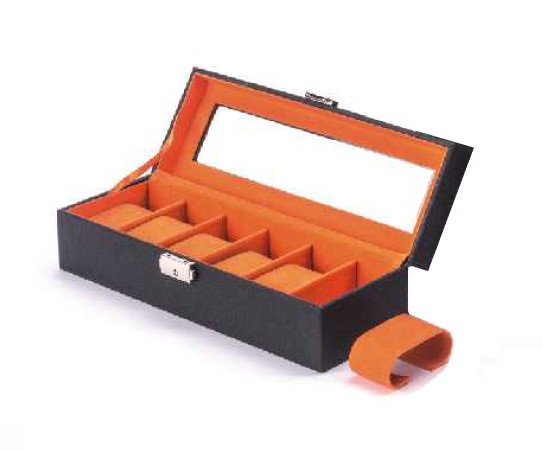 Box na hodinky AMBASSADOR Ultimo 9687 černý