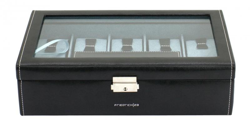 Kazeta na hodinky Friedrich Lederwaren Bond 20099-2