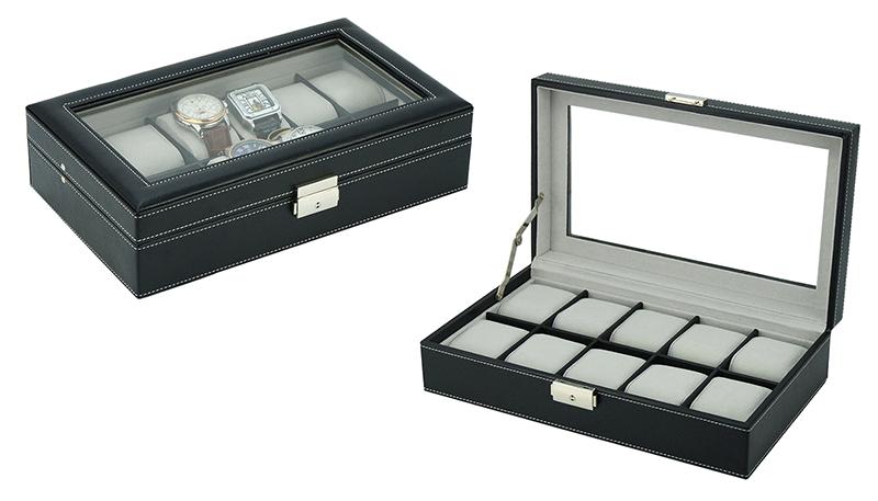 Kazeta na hodinky Miranda SW-3360 černá