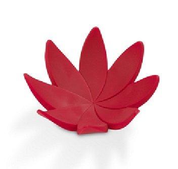 Stojan na šperky Umbra Lotus červený