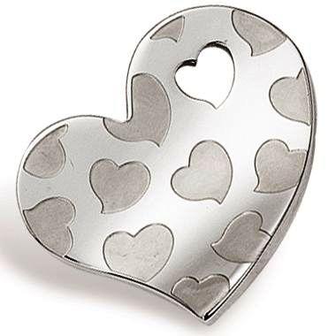 Přívěsek chirurgická ocel srdce PSLW05