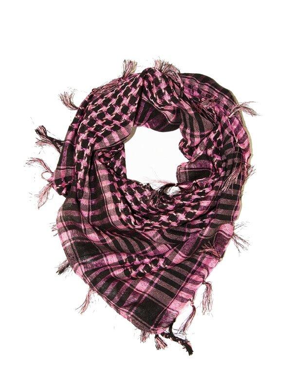 Šátek Arafat Palestina - světle růžový d8741a07ca