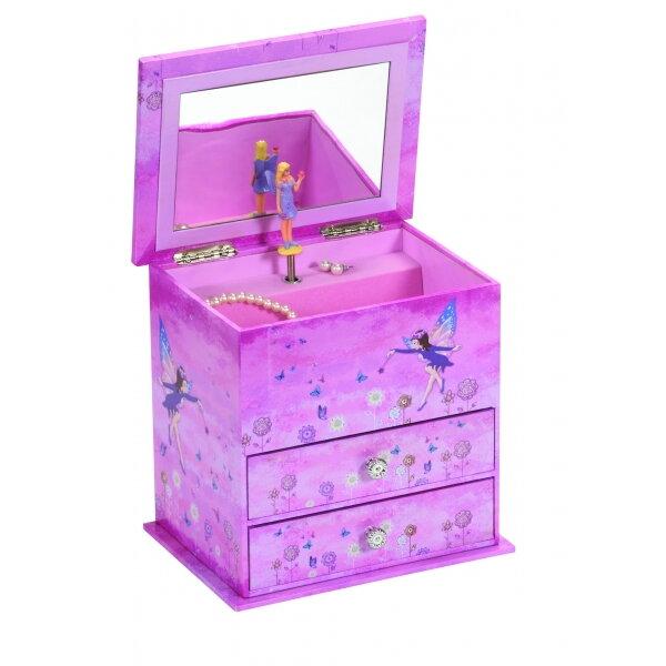 1354acf18f7 Hrací šperkovnice Mele Co. Trixie Purple