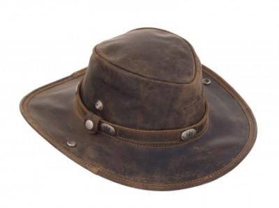 28621fd843f Kožený klobouk GreenLand Westcoast