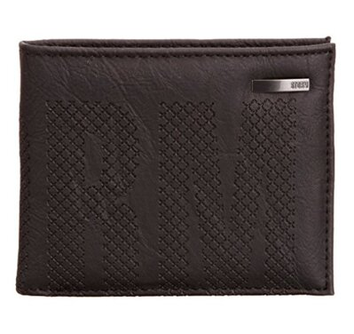 Storm peněženka Centric embossed wallet Brown