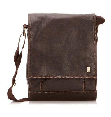 Storm Kingswood mini despatch bag Brown taška