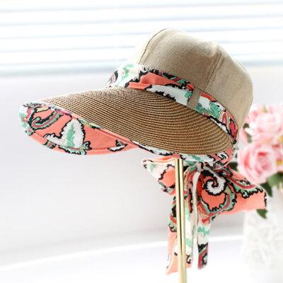 4af679f4d44 Letní klobouk Miranda se stuhou hnědý
