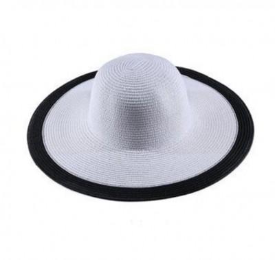 624fd17fe4e Dámský klobouk Miranda bílý s černým lemem
