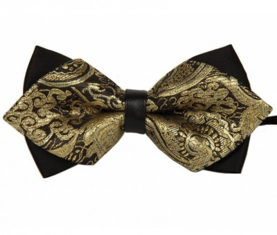 Motýlek Miranda Suit Bow Gold