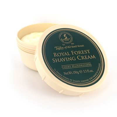 Taylor of Old Bond Street Royal Forest krém na holení 150 g