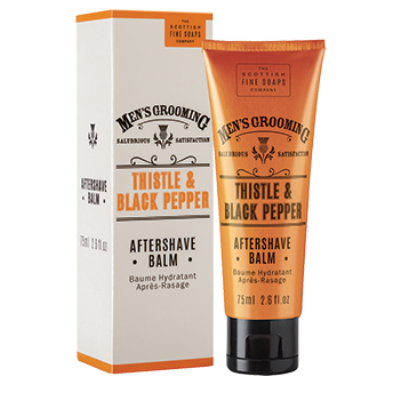 Scottish Fine Soaps Thistle and Black Pepper balzám po holení 75 ml