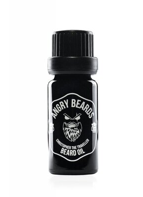 Angry Beards - Beard Oil Christopher The Traveller - Olej na vousy, 10ml