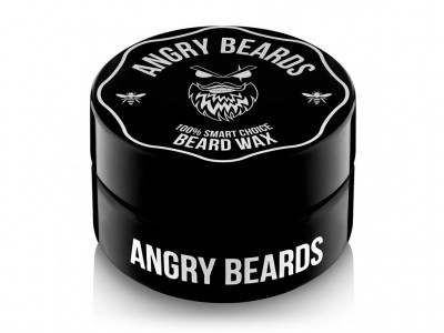 Vosk na vousy Angry Beards - Wax -30ml