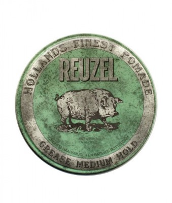 Pomáda na vlasy Reuzel Green Grease Medium Hold Piglet, 113 g