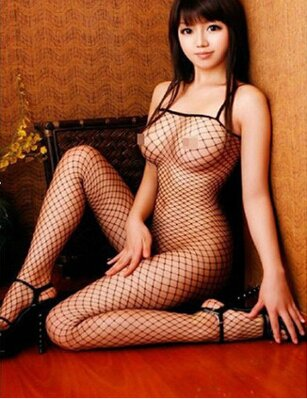 Bodystocking Fishnet black