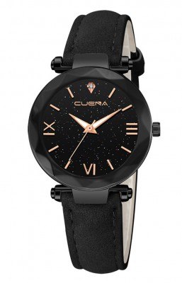Hodinky Cuena 4023 Black-Gold