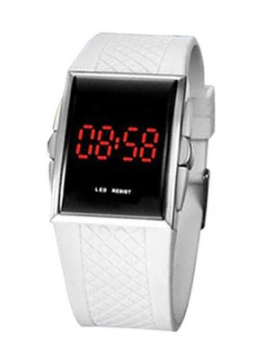 Hodinky LED Watch 7381 White
