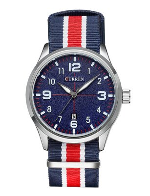 Hodinky Curren CR8195 Blue-Red